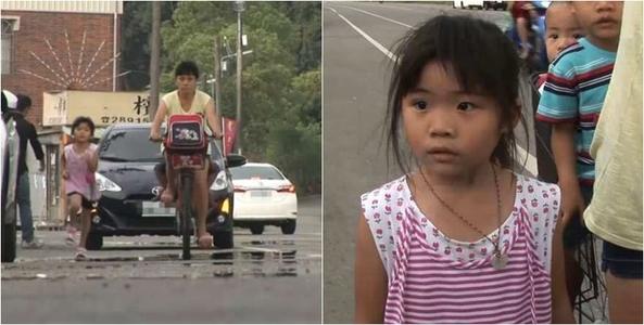 Bé gái 5 tuổi ngày nào cũng chạy theo xe mẹ 2 km để về nhà