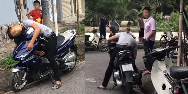 Nam Định: nam thanh niên chết bất thường trong tư thế ngồi trên xe