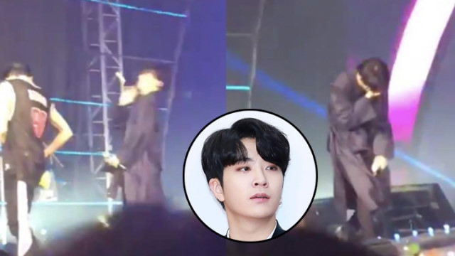 Khán giả ném đồ trúng mặt Youngjae (GOT7)