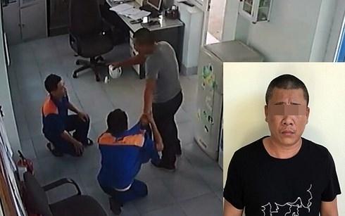 Hành hung nhân viên bán xăng bê bết máu, khách hàng bị tạm giữ hình sự