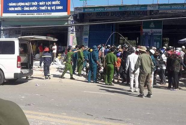 Xe tải tông liên hoàn trên quốc lộ 20, 6 người chết