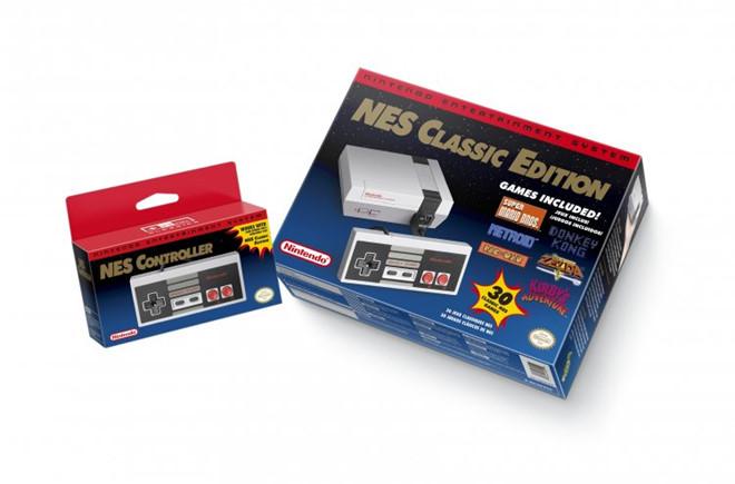 """""""Điện tử 4 nút"""" Nintendo sắp trở lại cùng 30 game xưa cũ"""