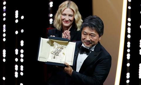 Vượt qua Hàn Quốc, Nhật thắng giải Cành cọ vàng tại Cannes