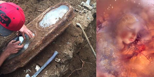 Xác chết vẫn còn nguyên vẹn sau gần 150 năm dưới lòng đất
