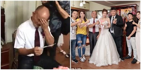 Khoảnh khắc xúc động khi người cha vợ dặn dò chàng rể hiền