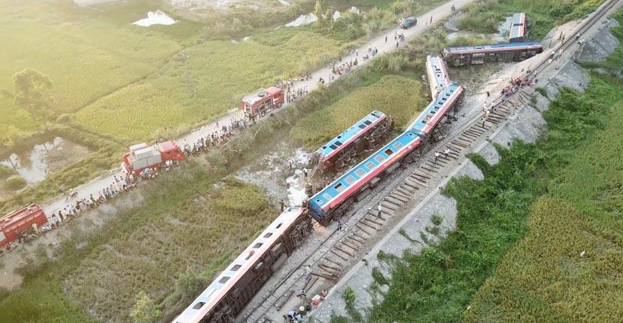 Nghi vấn chắn tàu chưa hạ trong vụ tai nạn tàu hoả ở Thanh Hóa