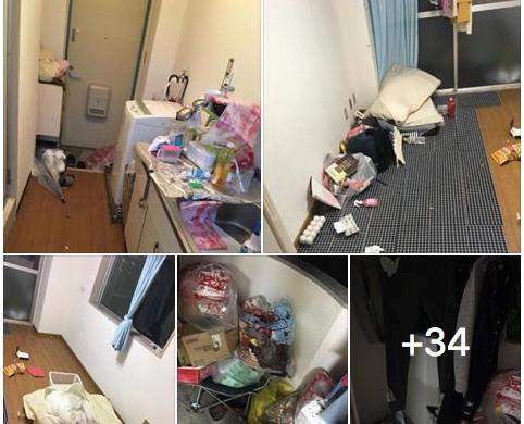 Nữ du học sinh Việt ở Nhật bị tố bùng tiền, biến nhà trọ thành bãi rác