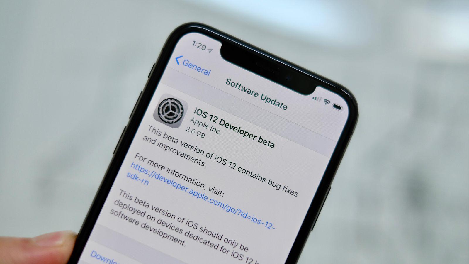 Lên iOS 12, người dùng bị treo máy, không vào được App Store