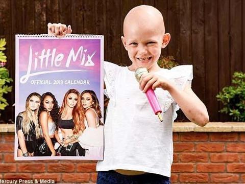 Nghe giọng hát của cô bé 6 tuổi bị ung thư và học cách để can đảm