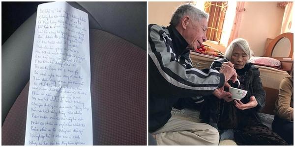 Cụ ông làm thơ tặng cụ bà trước khi qua đời