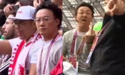 Trần Dịch Tấn giơ ngón tay thối, chửi bới ở World Cup 2018