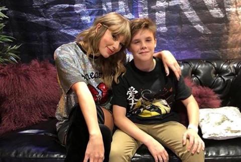 David Beckham đưa các con đến xem show Taylor Swift