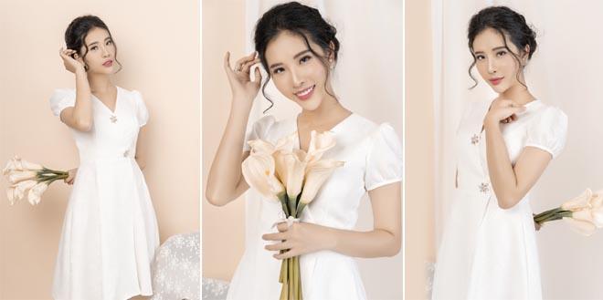 """""""Quý cô"""" thêm ngọt ngào và kiêu sang với thiết kế mới của """"phù thủy"""" Tommy Nguyễn"""