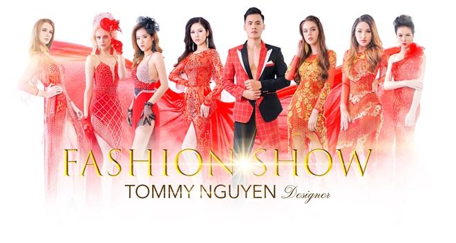 """Trinh Ken, Hồ Văn Phúc cùng dàn người mẫu chuẩn bị diễn """"FASHION SHOW"""" của NTK Tommy Nguyễn"""