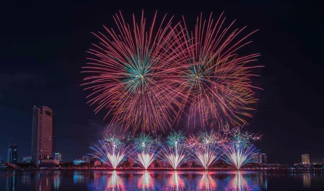 Italy vô địch Lễ hội pháo hoa quốc tế Đà Nẵng