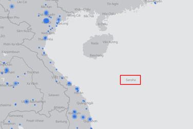 Yêu cầu Facebook xử lý việc đưa sai lệch bản đồ Hoàng Sa, Trường Sa