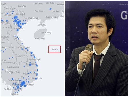 """""""Facebook phải xin lỗi vụ bản đồ Trường Sa thuộc Trung Quốc"""""""