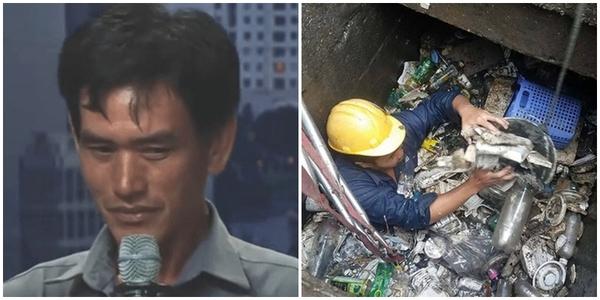Người công nhân vệ sinh môi trường chia sẻ về nghề nghiệp