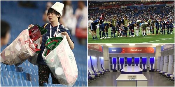 World Cup 2018: Người Nhật thật đáng ngưỡng mộ