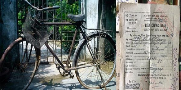 """Chiếc xe đạp cổ """"độc nhất vô nhị"""" còn giấy chính chủ xôn xao dân mạng"""