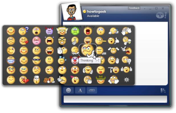 Hồi sinh bộ emoticon của Yahoo! Messenger trên máy tính