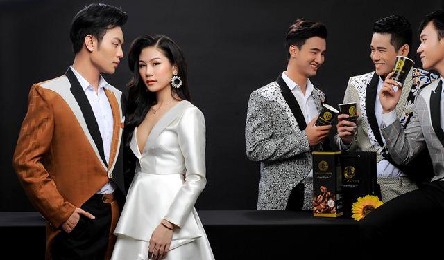 Trinh Ken cùng dàn model nam đồng hành cùng Bitcoin Coffee