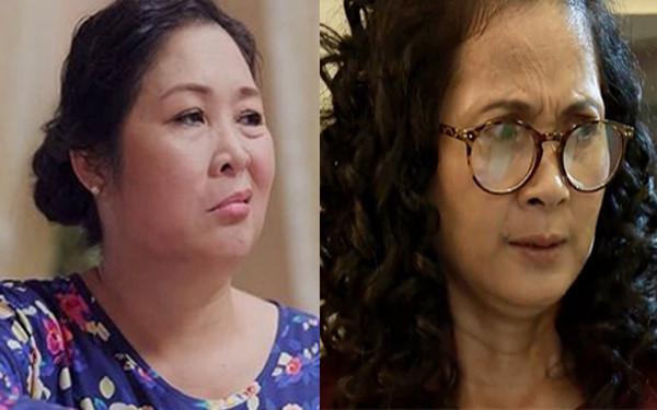 """Hồng Vân - Lan Hương: 2 bà mẹ """"gừng già"""" tai quái gây bão màn ảnh"""