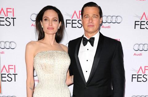Angelina Jolie nổi giận vì Brad Pitt dần giành được quyền nuôi con
