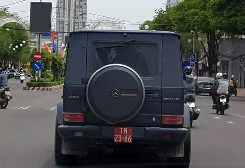 Mercedes - Benz G55 nghi mang biển số đỏ giả ở Cần Thơ