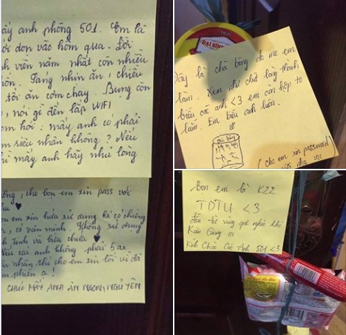 Màn xin mật khẩu Wi-Fi đáng yêu của tân sinh viên Sài Gòn