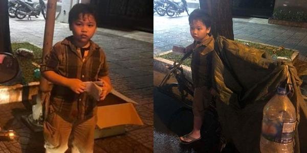 Bé trai 9 tuổi nhặt ve chai suốt đêm để có tiền mua thuốc cho mẹ