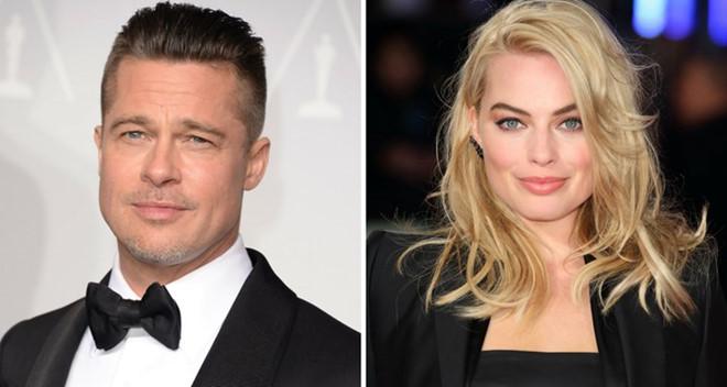"Brad Pitt bị chồng ""quả bom sex"" Margot Robbie dằn mặt"