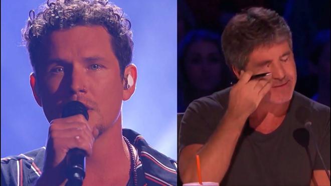 Simon Cowell rơi lệ khi nghe ông bố 6 con hát