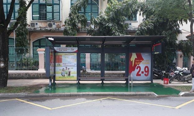 Sài Gòn có trạm buýt mới dành cho học sinh, người khuyết tật
