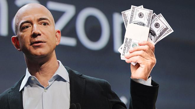 Sau Apple, đến lượt Amazon trở thành công ty Mỹ 1.000 tỷ USD