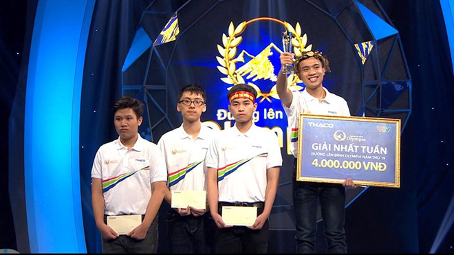 """10X lập kỷ lục ở cuộc thi mở màn """"Đường lên đỉnh Olympia"""" năm thứ 19"""