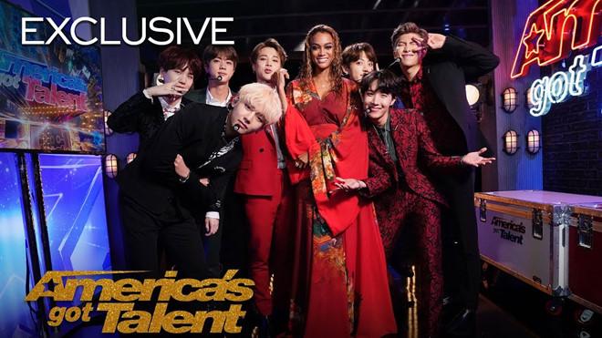 America's Got Talent gọi BTS là nhóm nhạc nam đỉnh nhất thế giới