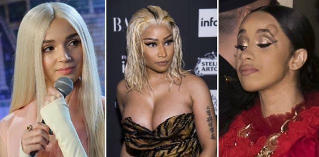 Poppy là nguyên nhân của trận đánh nhau giữa Nicki Minaj và Cardi B