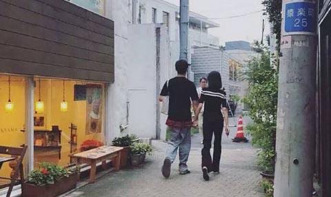 Trịnh Sảng và bạn trai thiếu gia tình tứ tại Nhật Bản