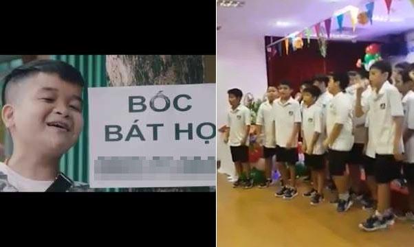 CĐM ném đá chương trình Trung thu cho trẻ em hát bài không phù hợp