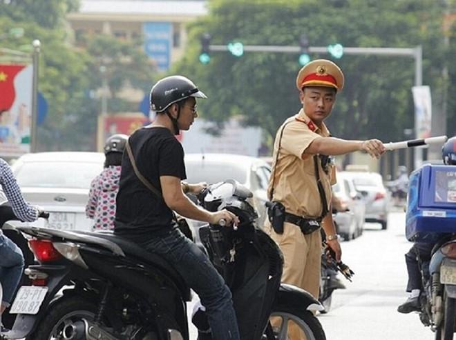 CSGT sẽ trừ điểm vào giấy phép lái xe của người vi phạm?