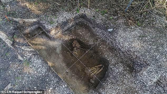 Phát hiện bộ xương 6.000 năm tuổi còn nguyên vẹn dưới công trường xây dựng