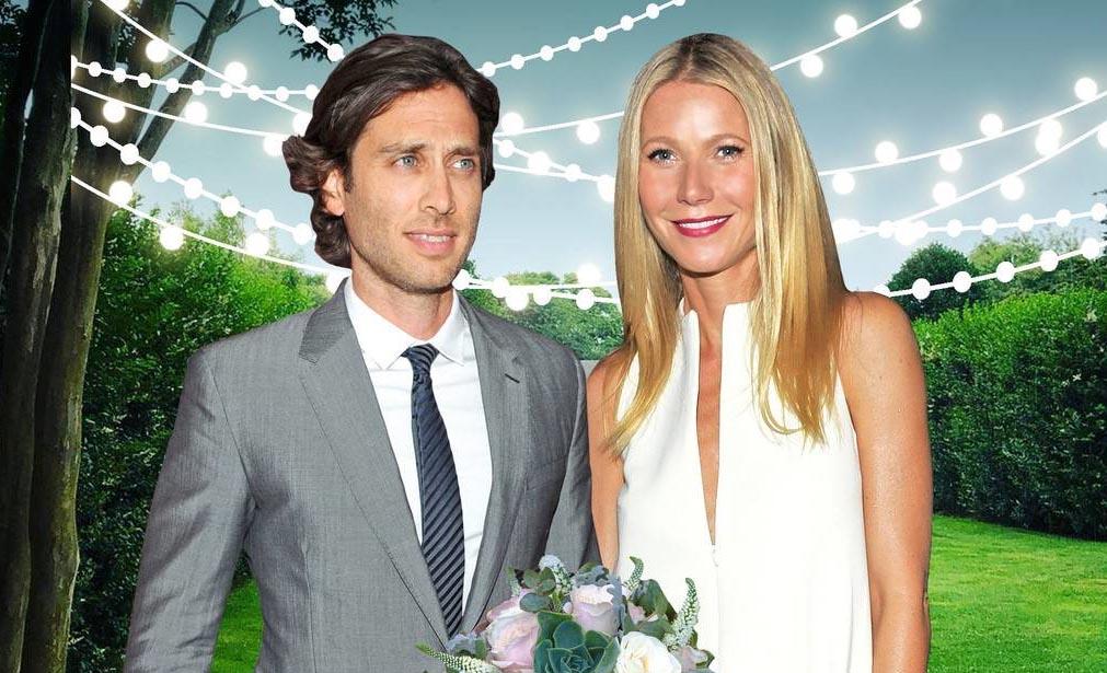 """""""Bạn gái Iron Man"""" Gwyneth Paltrow làm đám cưới với chồng thứ hai"""