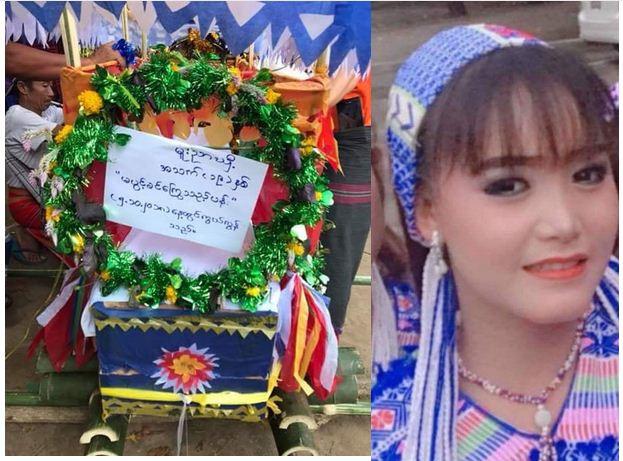 Nữ diễn viên Myanmar trúng đạn tại trường quay, qua đời ở tuổi 19