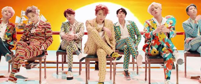 BTS thách thức kỷ lục của BIGBANG