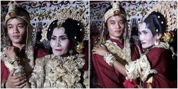 """Đám cưới đặc biệt của cặp đôi """"đũa lệch"""" vợ hơn chồng 45 tuổi"""