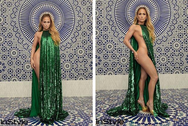 Jennifer Lopez mặc táo bạo gây tranh cãi