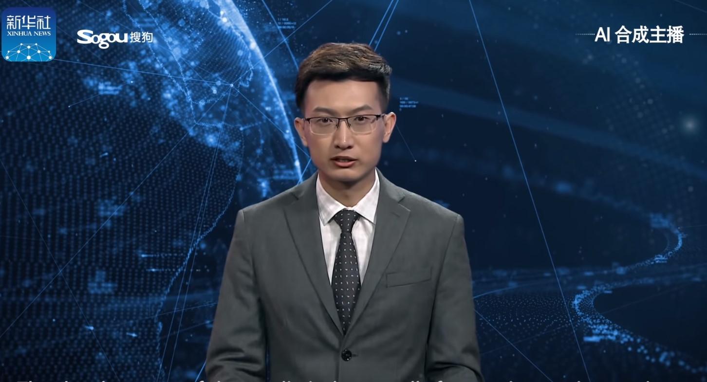 Trung Quốc ra mắt AI dẫn bản tin thời sự
