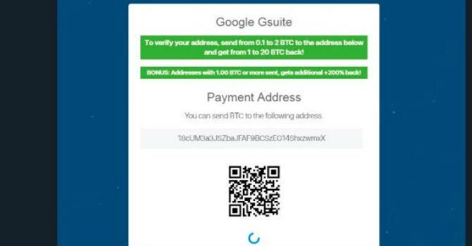Tài khoản Google trên Twitter bị hack, hứa tặng 10.000 Bitcoin