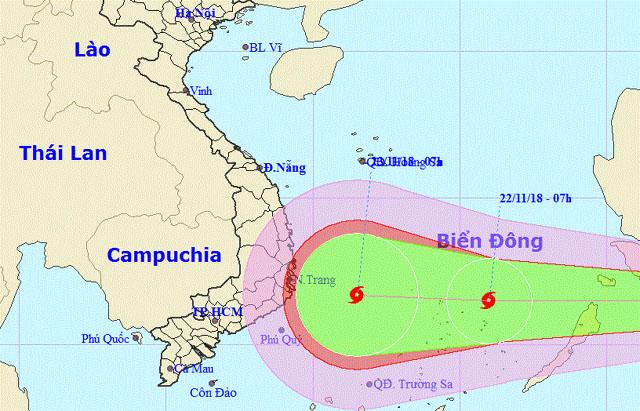 Nam Trung Bộ chuẩn bị đón cơn bão tiếp theo